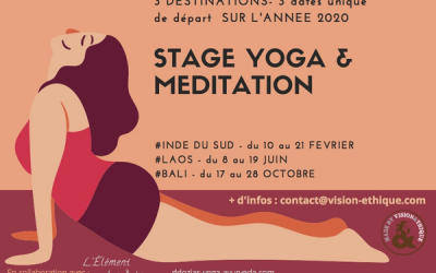 STAGE YOGA MEDITATION ECO-RESPONSABLE